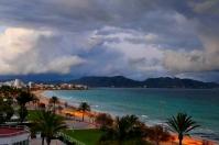 Storm over Mallorca